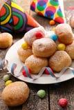 Doughnut για καρναβάλι στοκ εικόνες