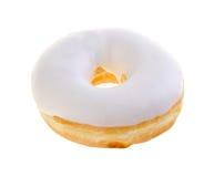 Doughnut, γλυκό doughnut με τη ζάχαρη Στοκ Φωτογραφία