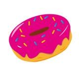 doughnut γλυκό Στοκ Εικόνα