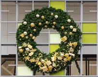Doughnut διακόσμηση Χριστουγέννων Στοκ εικόνες με δικαίωμα ελεύθερης χρήσης