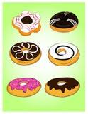 Doughnut εικονίδιο Στοκ φωτογραφία με δικαίωμα ελεύθερης χρήσης