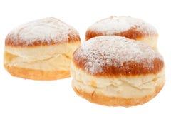 doughnut ζάχαρη σκόνης Στοκ εικόνες με δικαίωμα ελεύθερης χρήσης
