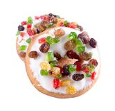 Doughnut, ζωηρόχρωμο Donuts στο υπόβαθρο Στοκ Εικόνα
