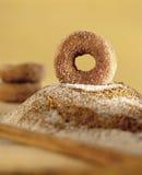 doughnut κανέλας στοκ εικόνες