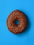 Doughnut με την τήξη Στοκ Εικόνες