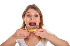 doughnut νόστιμο στοκ εικόνα με δικαίωμα ελεύθερης χρήσης