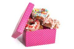 Doughnut παρόν Στοκ Εικόνες