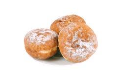 doughnut πιατάκι τρία Στοκ φωτογραφία με δικαίωμα ελεύθερης χρήσης