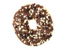 doughnut σοκολάτας τσιπ Στοκ εικόνες με δικαίωμα ελεύθερης χρήσης