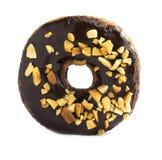 Doughnut σοκολάτας Στοκ φωτογραφία με δικαίωμα ελεύθερης χρήσης