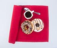 Doughnut doughnut στο υπόβαθρο Στοκ Εικόνες