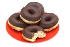 doughnut τέσσερα μισό Στοκ Εικόνες
