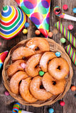 Doughnut της Apple Στοκ εικόνα με δικαίωμα ελεύθερης χρήσης