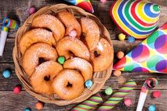 Doughnut της Apple Στοκ Εικόνα