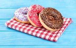 Doughnut τρία στοκ εικόνες με δικαίωμα ελεύθερης χρήσης