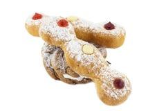 Doughnut τρίο στοκ εικόνες
