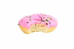 Doughnut φράουλα Στοκ Εικόνα