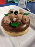 Doughnut royalty-vrije stock afbeeldingen