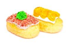 doughnut απομονώνει Στοκ Εικόνες
