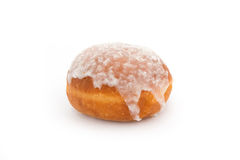 Doughnut. Brown dougnut with icing sugar stock images