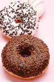 Doughnut. Very tasty and sweet doughnuts stock images