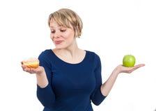 Doughnut; Apple; Doughnut! Στοκ φωτογραφία με δικαίωμα ελεύθερης χρήσης