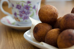 Doughnut balls Royalty Free Stock Images