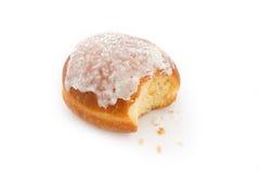 Doughnut bitten Royalty Free Stock Image