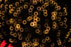 Doughnut bokeh background Stock Photo