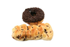 Doughnut bread Royalty Free Stock Images