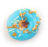 Doughnut Bue Στοκ εικόνα με δικαίωμα ελεύθερης χρήσης