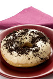 Doughnut with cacao Stock Image