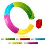 Doughnut Chart Stock Image