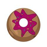Doughnut culinary vector EPS 10 royalty free stock photos