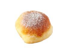 Doughnut die op witte achtergrond wordt geïsoleerdu Stock Afbeeldingen