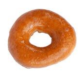 Doughnut die over wit wordt geïsoleerdo Stock Foto's