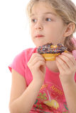 Doughnut dilema Stock Photos