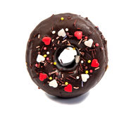 Doughnut or donut  on white. Background cutout Royalty Free Stock Image