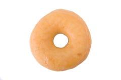 Doughnut of doughnut die op wit wordt geïsoleerdl Royalty-vrije Stock Afbeeldingen