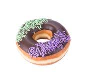 Doughnut doughnut op de achtergrond Stock Afbeelding