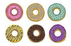 Doughnut friedcake royalty-vrije stock afbeeldingen