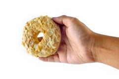 Doughnut on Hand Stock Photos