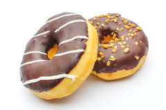 Doughnut. An isolated doughnut on white background Stock Photography