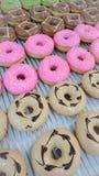 Doughnut Macam-macam στοκ εικόνες