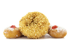 Doughnut nut and Doughnut Trio Stock Images