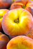 Doughnut peaches Royalty Free Stock Image