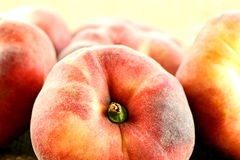 Doughnut peaches Stock Photo