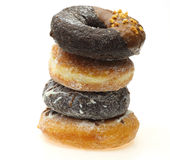 Doughnut in pilling up Stock Photo