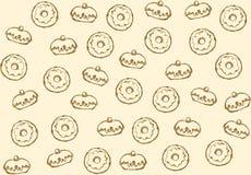 Doughnut r διανυσματική απεικόνιση