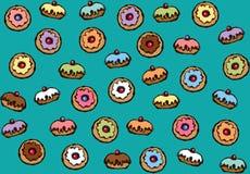 Doughnut r ελεύθερη απεικόνιση δικαιώματος